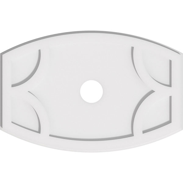 Kailey Architectural Grade PVC Contemporary Ceiling Medallion
