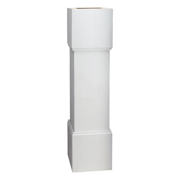 "12""W x 48""H Plain Newel Post"