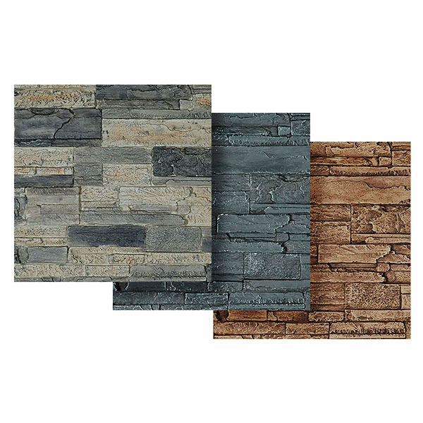 "9""W x 8""H Cascade Stacked Stone, StoneWall Faux Stone Siding Panel"