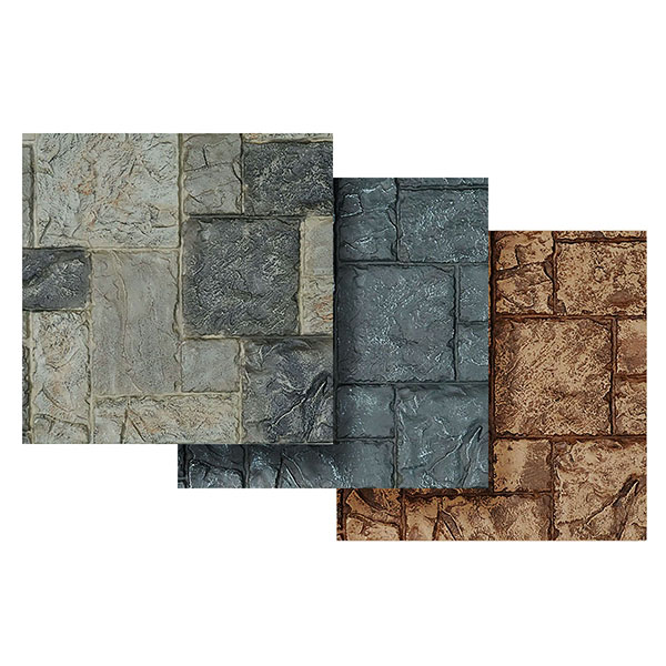 "9""W x 8""H Castle Rock Stacked Stone, StoneWall Faux Stone Siding Panel"