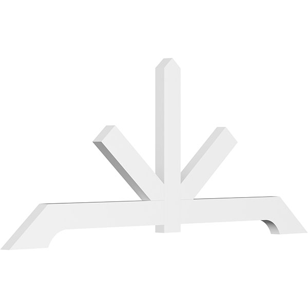 Vanguard Architectural Grade PVC Gable Bracket