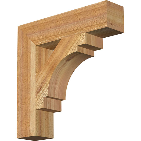 Merced Block Rough Sawn Bracket
