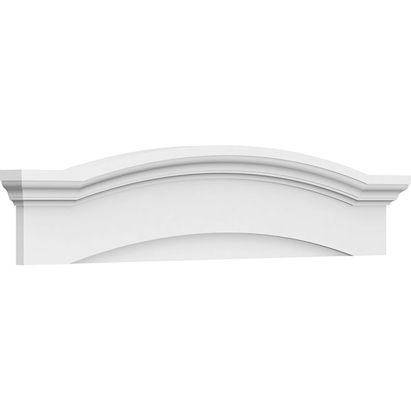 Eyebrow Architectural Grade PVC Pediment