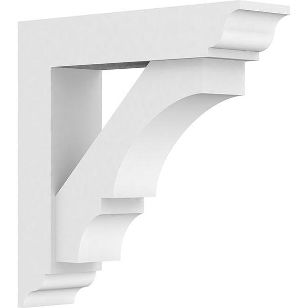 Standard Balboa Architectural Grade PVC Bracket With Traditional Ends
