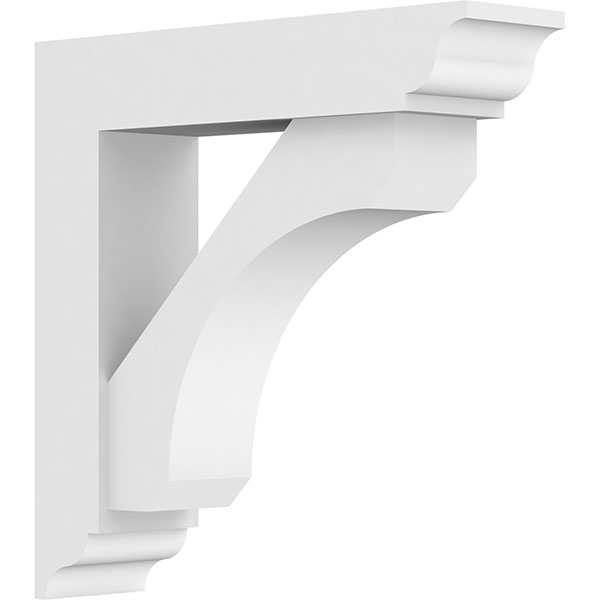 Standard Legacy Architectural Grade PVC Bracket With Traditional Ends