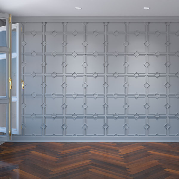 Fleming Decorative Fretwork Wall Panels in Architectural Grade PVC