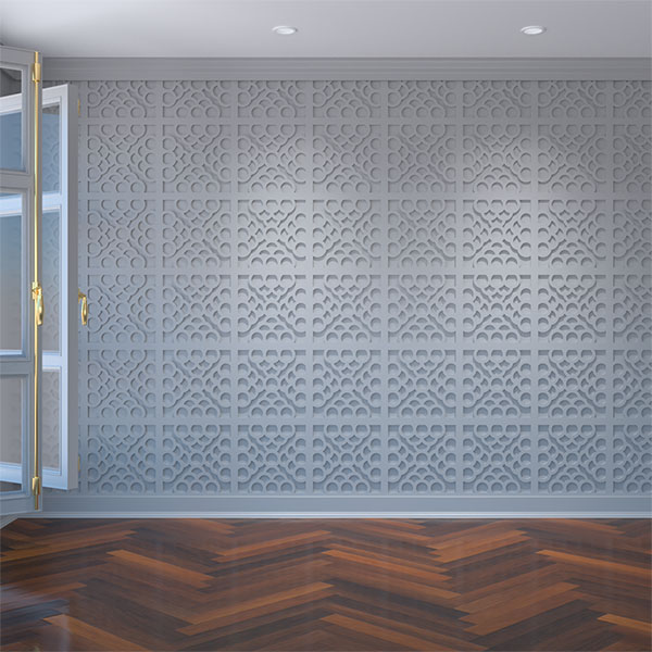 Harlingen Decorative Fretwork Wall Panels in Architectural Grade PVC