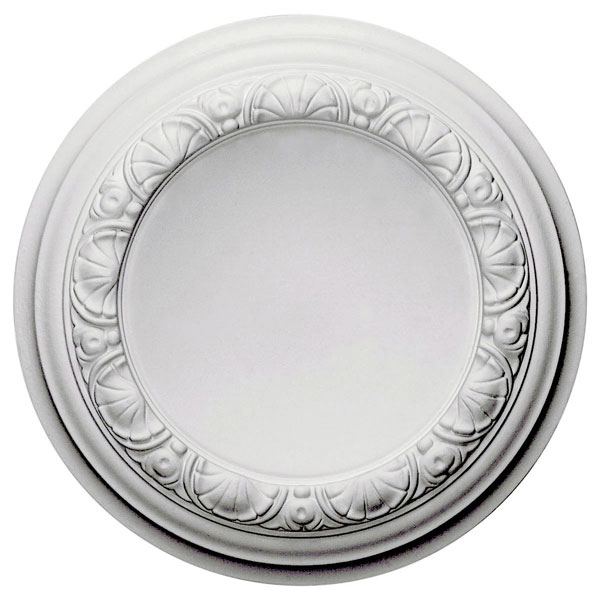 "12 1/2""OD x 1 1/2""P Carlsbad Ceiling Medallion (Fits Canopies up to 7 7/8"")"