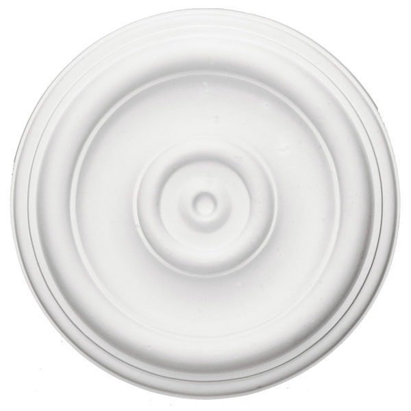 "12""OD x 1""P Traditional Ceiling Medallion (Fits Canopies up to 2 3/4"")"