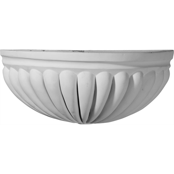 "14 1/8""W x 6 7/8""D x 6""H Basin Wall Sconce"