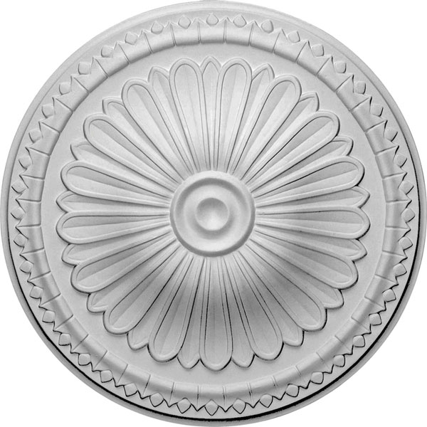 "15""OD x 1 3/4""P Alexa Ceiling Medallion (Fits Canopies up to 3"")"