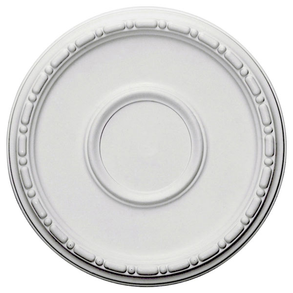 """16 1/2""""OD x 1 1/2""""P Medea Ceiling Medallion (Fits Canopies up to 5 1/2"""")"""