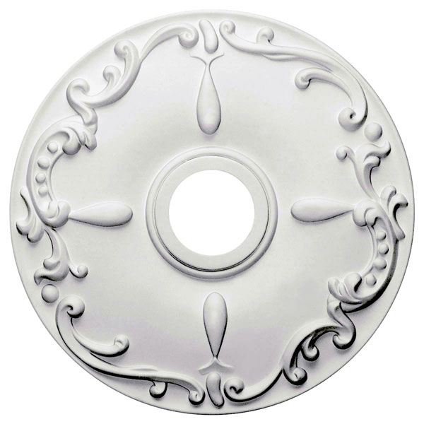 "18""OD x 3 1/2""ID x 1 1/4""P Kent Ceiling Medallion (Fits Canopies up to 5"")"