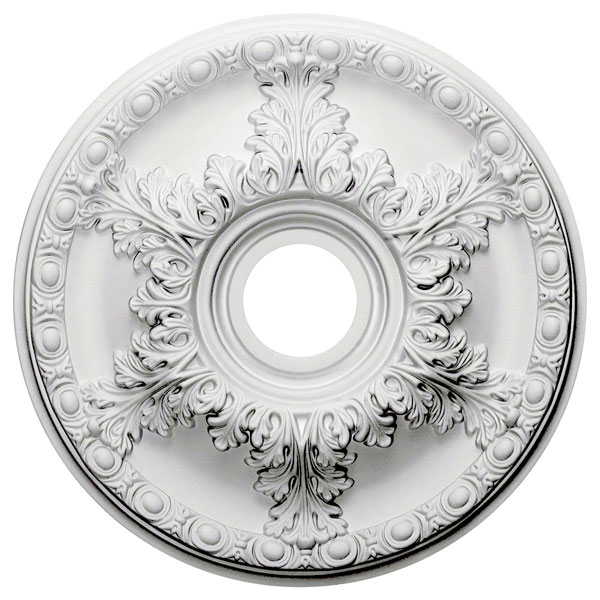 "18""OD x 3 1/2""ID x 2 1/2""P Granada Ceiling Medallion (Fits Canopies up to 6 5/8"")"