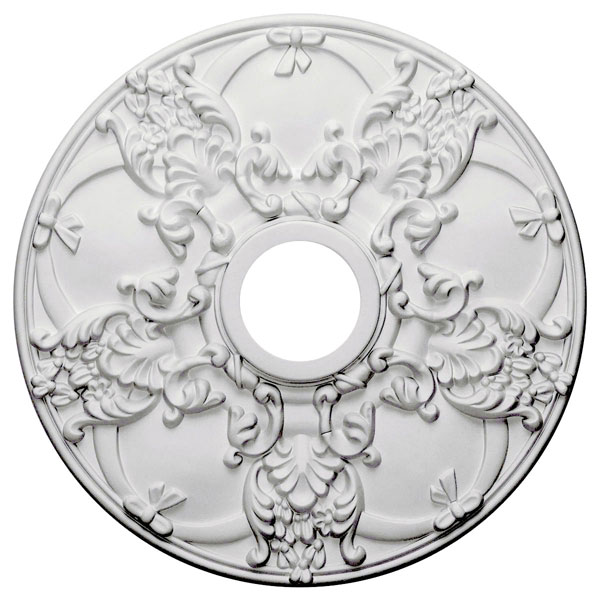 "18""OD x 3 1/2""ID x 1 3/8""P Norwich Ceiling Medallion (Fits Canopies up to 4 1/2"")"