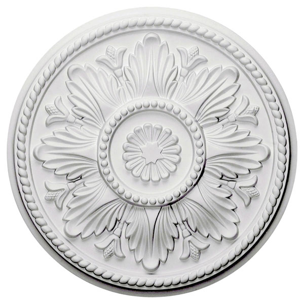 "18""OD x 1 3/4""P Edinburgh Ceiling Medallion (Fits Canopies up to 5 1/4"")"