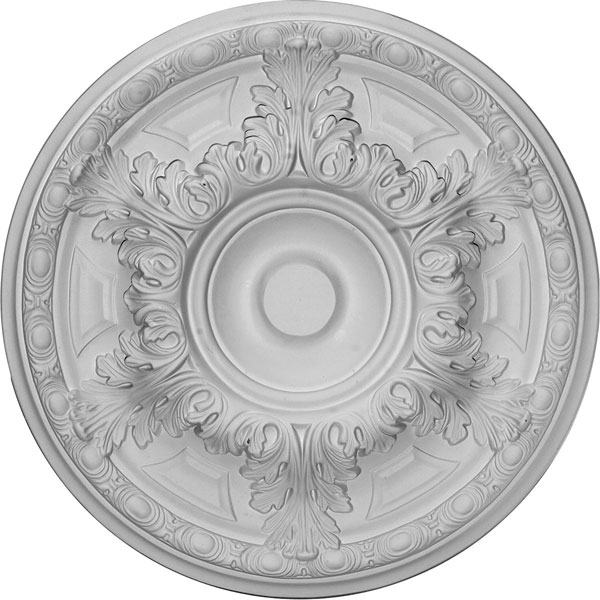 "19""OD x 1 1/2""P Granada Ceiling Medallion (Fits Canopies up to 7 1/8"")"