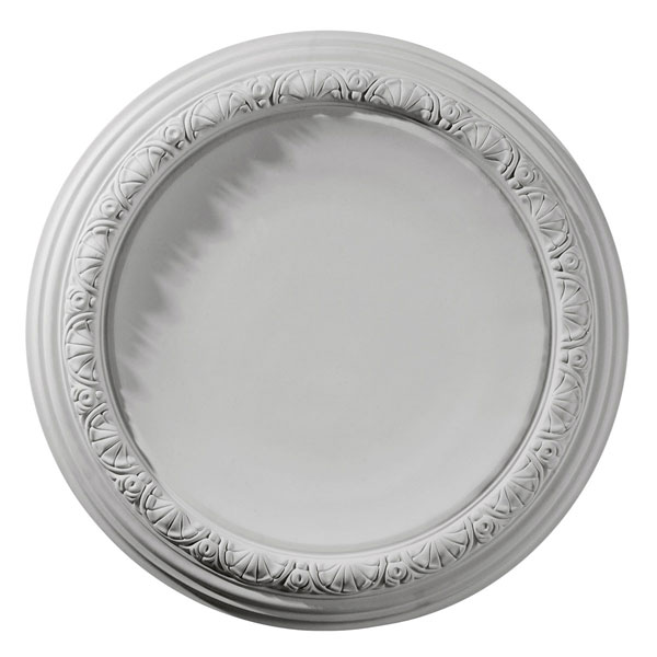 """19 1/2""""OD x 1 3/4""""P Carlsbad Ceiling Medallion (Fits Canopies up to 14 1/4"""")"""