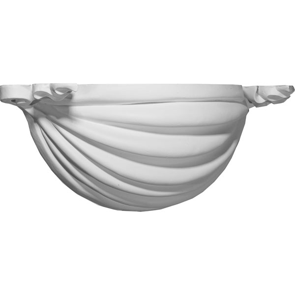 "19 7/8""W x 7 7/8""D x 6 5/8""H Ribbon Wall Sconce"