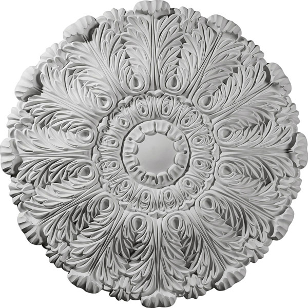 "31""OD x 1 1/2""P Durham Ceiling Medallion (Fits Canopies up to 4 1/4"")"