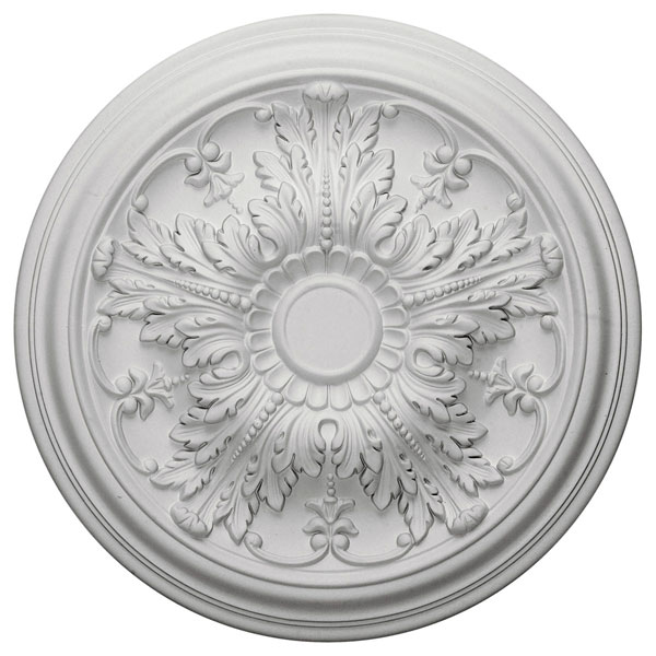 "20""OD x 1 1/2""P Damon Ceiling Medallion (Fits Canopies up to 3 3/8"")"