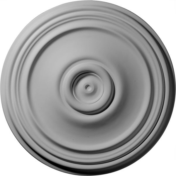 "21""OD x 1 1/4""P Reece Ceiling Medallion (Fits Canopies up to 6 3/4"")"