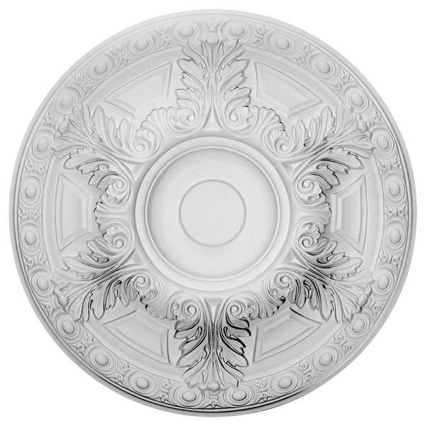 "23 1/2""OD x 2 3/4""P Granada Ceiling Medallion (Fits Canopies up to 7 1/8"")"