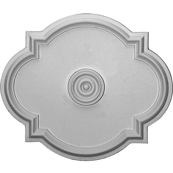 "24""W x 20 1/2""H x 1 1/8""P Waltz Ceiling Medallion (Fits Canopies up to 5 1/4"")"