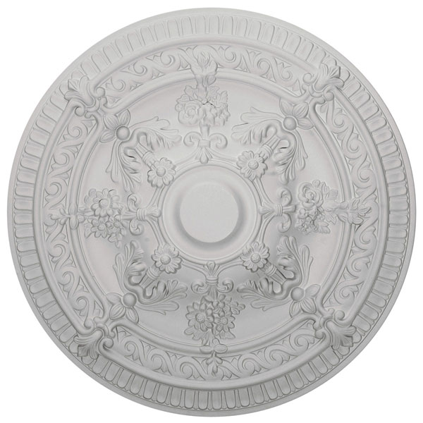 "26""OD x 3""P Vincent Ceiling Medallion (Fits Canopies up to 6"")"