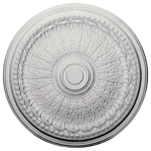 "27""OD x 2 1/2""P Brunswick Ceiling Medallion (Fits Canopies up to 4 1/2"")"