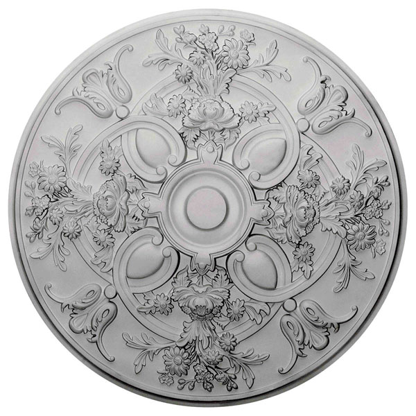 "31 1/4""OD x 2 1/4""P Baile Ceiling Medallion (Fits Canopies up to 6"")"