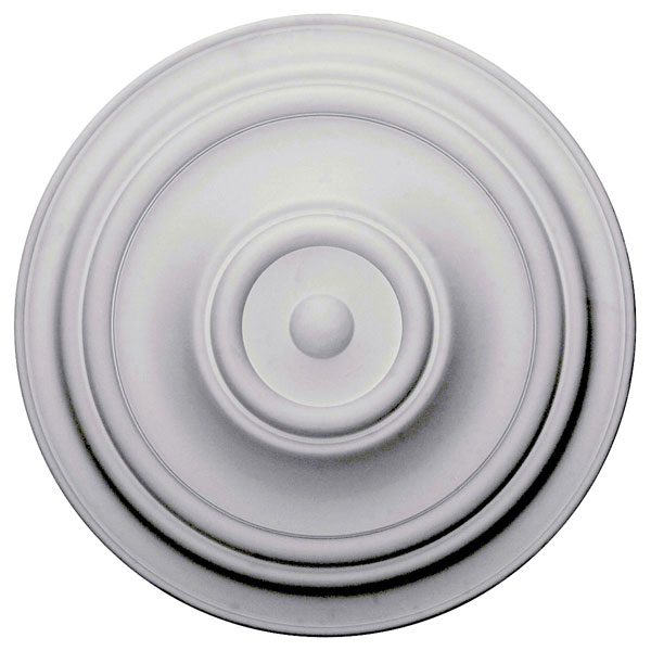 "31 1/2""OD x 2 1/2""P Traditional Ceiling Medallion (Fits Canopies up to 8 1/4"")"