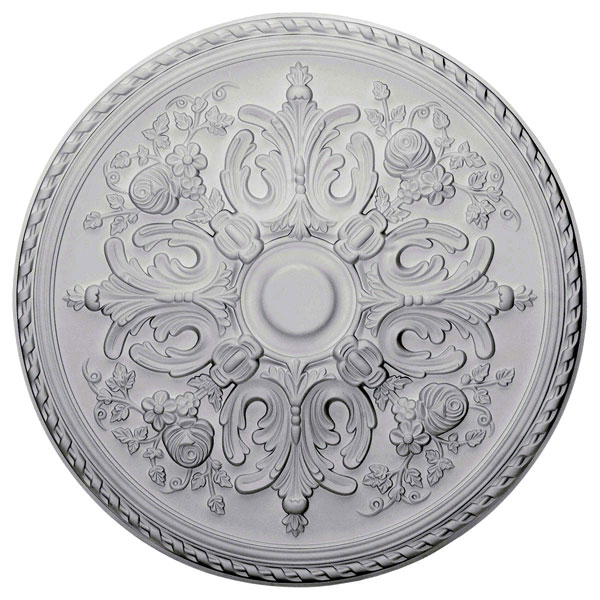 "32 5/8""OD x 2""P Bradford Ceiling Medallion (Fits Canopies up to 6 5/8"")"