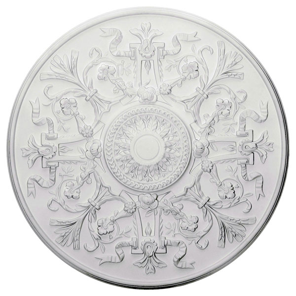 "33""OD x 1 3/4""P Versailles Ceiling Medallion (Fits Canopies up to 3 1/4"")"