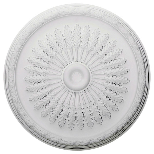 "36""OD x 1 1/2""P Juniper Ceiling Medallion (Fits Canopies up to 7"")"