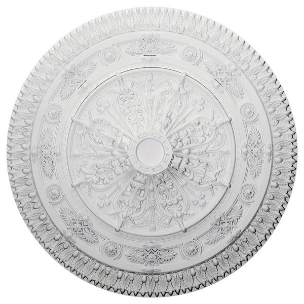 "37 1/2""OD x 3 3/8""P Naple Ceiling Medallion (Fits Canopies up to 3 3/8"")"