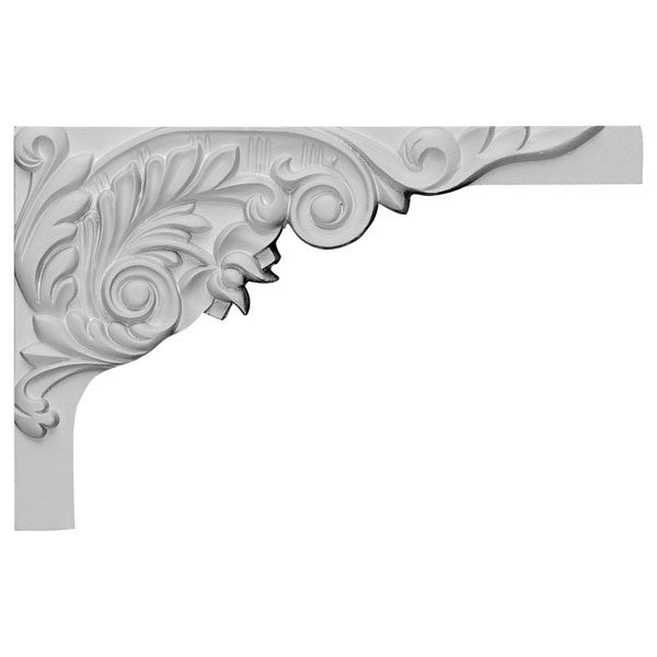 "11""W x 7""H x 5/8""D Springtime Stair Bracket, Right"