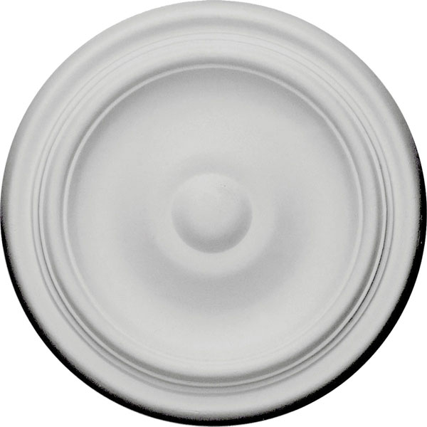 "9 5/8""OD x 1 1/8""P Maria Ceiling Medallion (Fits Canopies up to 1 3/4"")"