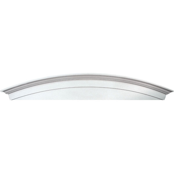 "33 5/8""W x 14""H x 4 1/2""P Window Crosshead Arch Solid, Urethane"