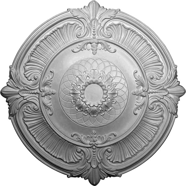 "39 1/2""OD x 2 1/2""P Attica Ceiling Medallion (Fits Canopies up to 3 3/4"")"