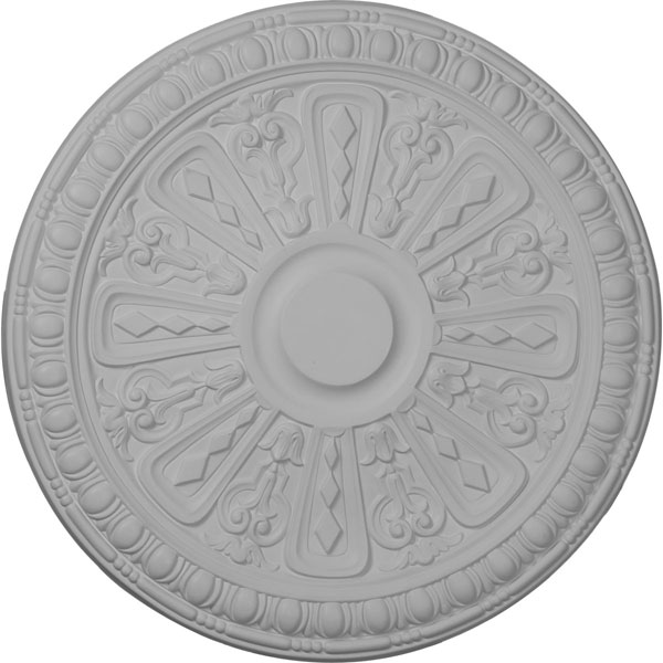 "18""OD x 1 1/4""P Raymond Ceiling Medallion (Fits Canopies up to 5 3/8"")"