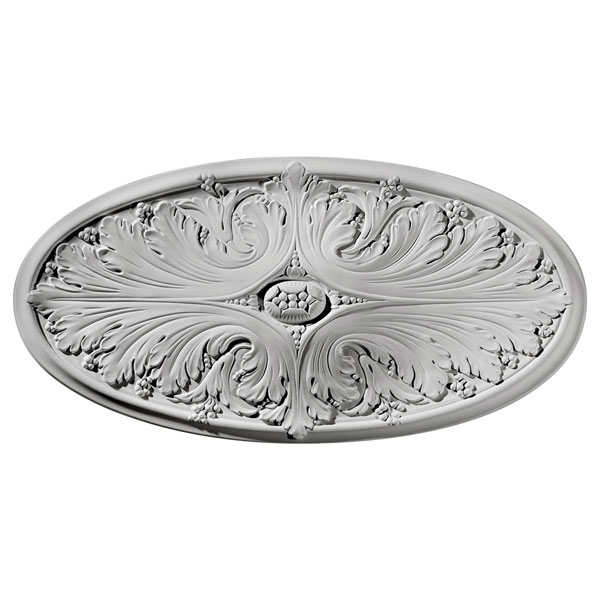 "24 3/4""W x 12 1/2""H x 1 3/4""P Madrid Ceiling Medallion"