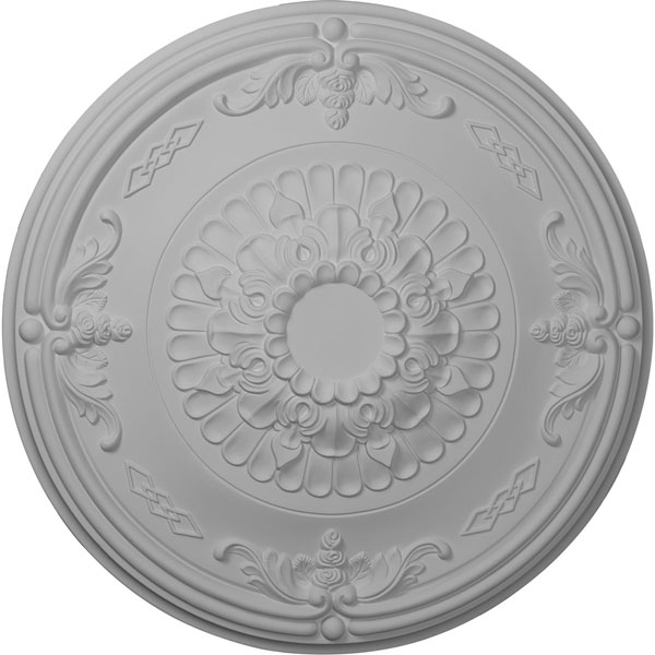 "26 1/4""OD x 3 1/4""P Athens Ceiling Medallion (Fits Canopies up to 3 5/8"")"