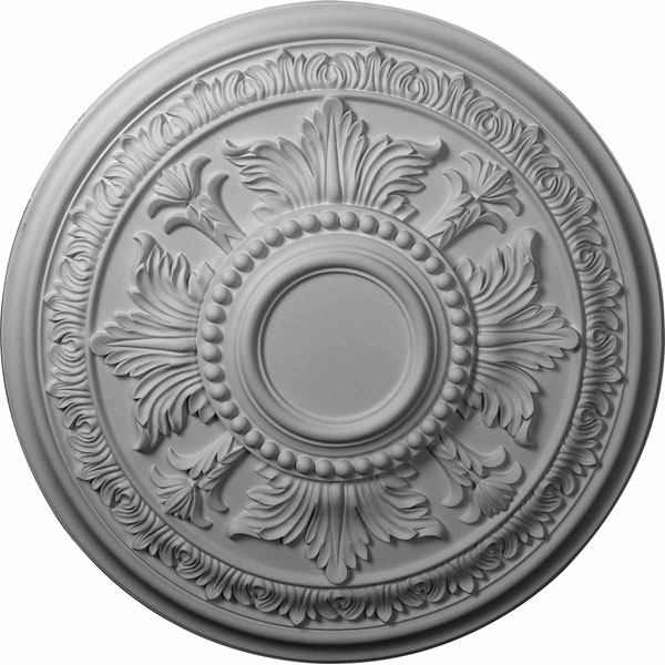 "30 5/8""OD x 2 1/2""P Tellson Ceiling Medallion (Fits Canopies up to 6 3/4"")"