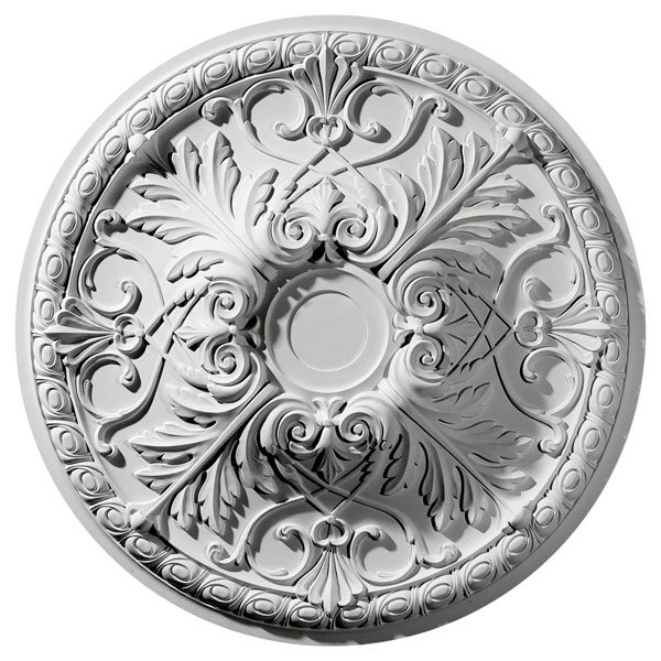 "32 3/8""OD x 3 1/2""P Tristan Ceiling Medallion (Fits Canopies up to 6 1/4"")"