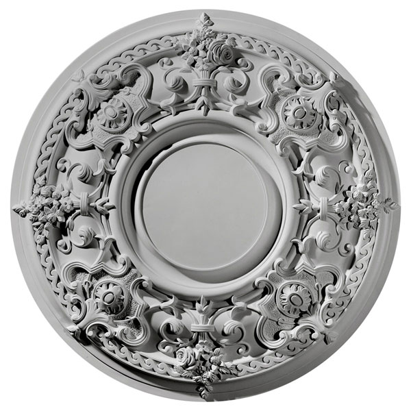 "32 3/4""OD x 2 1/2""P Jackson Ceiling Medallion (Fits Canopies up to 13 1/2"")"