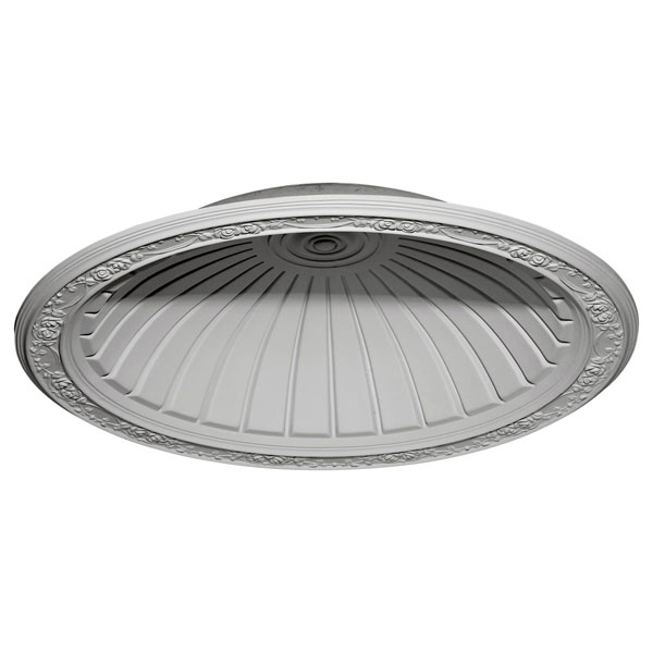 "42 7/8""OD x 35 3/8""ID x 8 1/4""D Hamilton Recessed Mount Ceiling Dome (36 1/2"" Diameter x 9 1/4""D Rough Opening)"