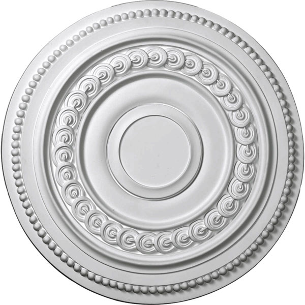 "18""OD x 1 1/4""P Oldham Ceiling Medallion (Fits Canopies up to 8 5/8"")"