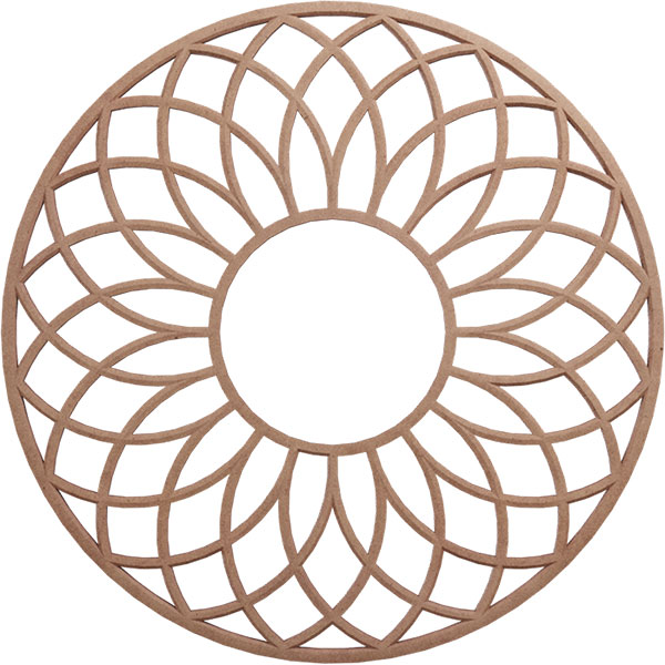 Cannes Wood Fretwork Ceiling Medallion