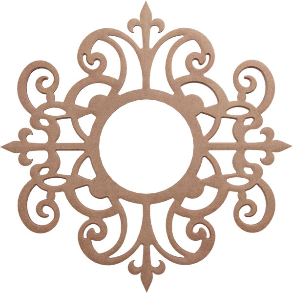 Dijon Wood Fretwork Ceiling Medallion